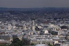 Ansicht von Paris stockbild