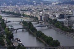 Ansicht von Paris lizenzfreie stockfotografie