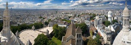 Ansicht von Paris. Sacre Couer Lizenzfreies Stockbild