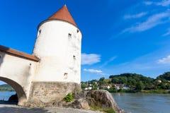 Ansicht von Passau, Deutschland Lizenzfreies Stockbild