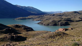 Ansicht von Patagonia See Lizenzfreie Stockfotos