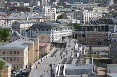 Ansicht von Patriarshy-Brücke Lizenzfreie Stockfotos