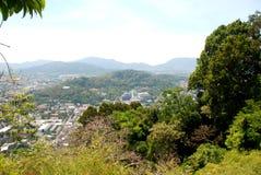 Ansicht von Phuket-Insel Lizenzfreie Stockfotografie