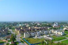 Ansicht von Piedmont-Teil von Tobolsk Lizenzfreies Stockfoto