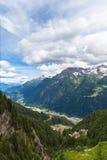 Ansicht von Piora-Tal in Tessin Stockfoto