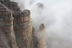 Ansicht von Piz Boè, Alpen Stockbild