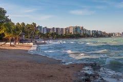 Ansicht von Ponta Verde Stockfoto