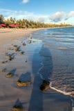 Ansicht von Ponta Verde Lizenzfreie Stockfotos