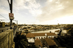 Ansicht von Porto Stockfoto