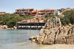 Ansicht von Porto Cervo Sardegna Italien Stockfotografie