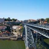Ansicht von Porto-Stadt, Portugal lizenzfreies stockbild
