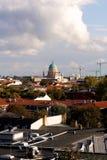 Ansicht von Potsdam, Deutschland, mit dem Garnisionskirche (Garrison Church) in dem Mitte (Porträt) Stockfotos