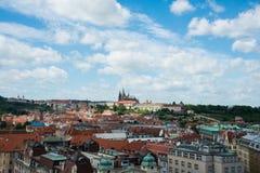 Ansicht von Prag Lizenzfreies Stockbild