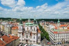 Ansicht von Prag Stockbild