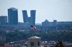 Ansicht von Prag Stockfotos