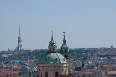 Ansicht von Prag Stockfotografie