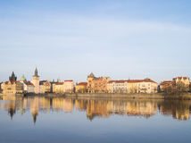 Ansicht von Prag, Tschechische Republik Lizenzfreie Stockfotos