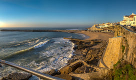 Ansicht von Praia-DOS Pescadores Ericeira Lizenzfreie Stockfotografie