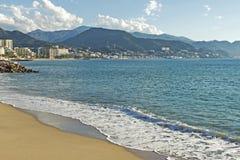 Ansicht von Puerto Vallarta, Pazifischer Ozean Lizenzfreie Stockfotografie