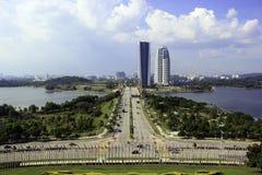 Ansicht von Putrajaya-Stadt Stockfotos