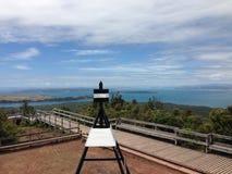 Ansicht von Rangitoto-Insel Stockfotos