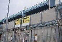 Ansicht von Renzo Barbera-Stadion stockbild