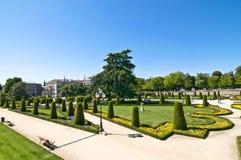 Ansicht von Retiro-Park, Madrid Stockfoto