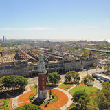 Ansicht von Retiro-Region von Buenos Aires. Lizenzfreies Stockfoto