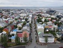 Ansicht von Reykjavik lizenzfreie stockfotos