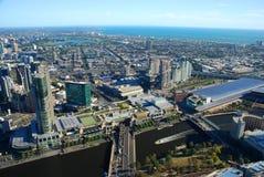Ansicht von Rialto-Turm melbourne victoria australien stockfotografie