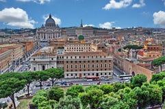Ansicht von Rom lizenzfreies stockbild