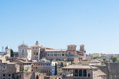 Ansicht von Rom, Italien Stockbild