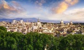 Ansicht von Rom, Italien, Europa Stockbild