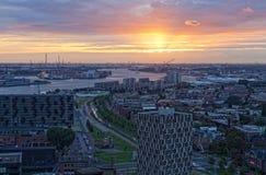 Ansicht von Rotterdam lizenzfreie stockfotografie