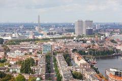 Ansicht von Rotterdam stockbilder