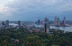 Ansicht von Rotterdam stockfotografie