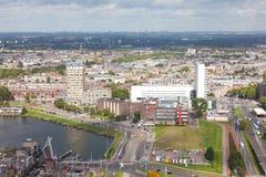 Ansicht von Rotterdam lizenzfreie stockfotos
