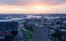 Ansicht von Rotterdam lizenzfreies stockfoto