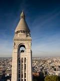 Ansicht von Sacre Coeur stockfoto