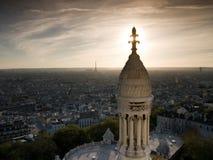 Ansicht von Sacre Coeur Stockbilder