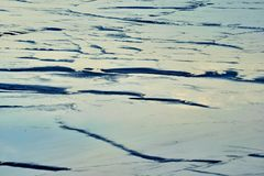 Ansicht von Salt Lake Tuzbair Lizenzfreies Stockfoto
