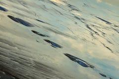 Ansicht von Salt Lake Tuzbair Stockbilder