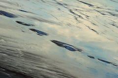 Ansicht von Salt Lake Tuzbair Stockfoto