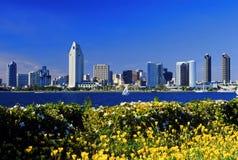 Ansicht von San Diego Stockfotografie