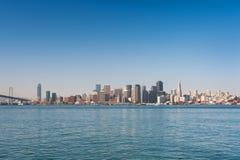 Ansicht von San Francisco Stockbild