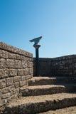 Ansicht von San- Marinofestung auf adriatischer Küste Lizenzfreie Stockfotografie