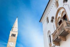 Ansicht von San Vito Al Tagliamento Stockbilder