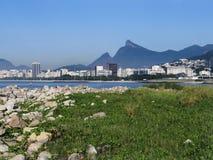 Ansicht von Santos Dumont Airport Lizenzfreie Stockfotografie