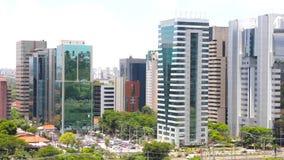 Ansicht von Sao Paulo stock video