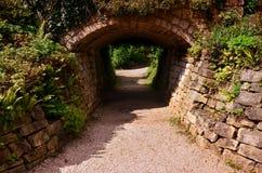 Ansicht von schönen Gärten in Brodsworth Hall Lizenzfreie Stockfotografie